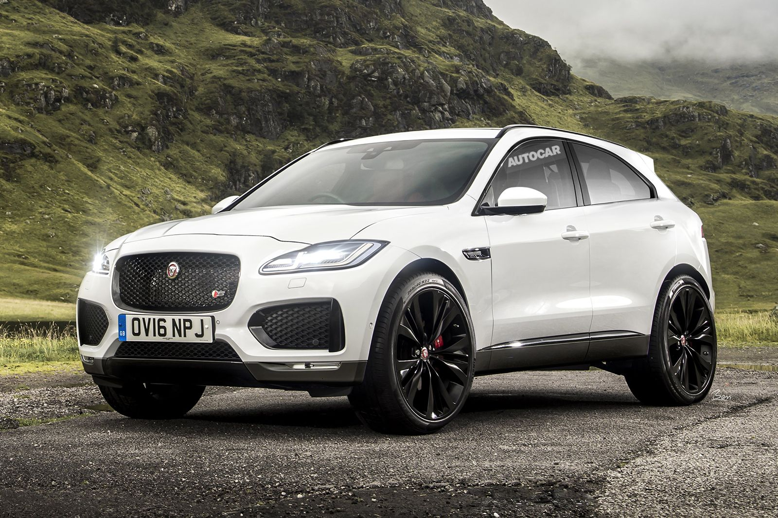 jaguar e pace new compact suv jaguar pinterest compact suv cars and dream cars. Black Bedroom Furniture Sets. Home Design Ideas