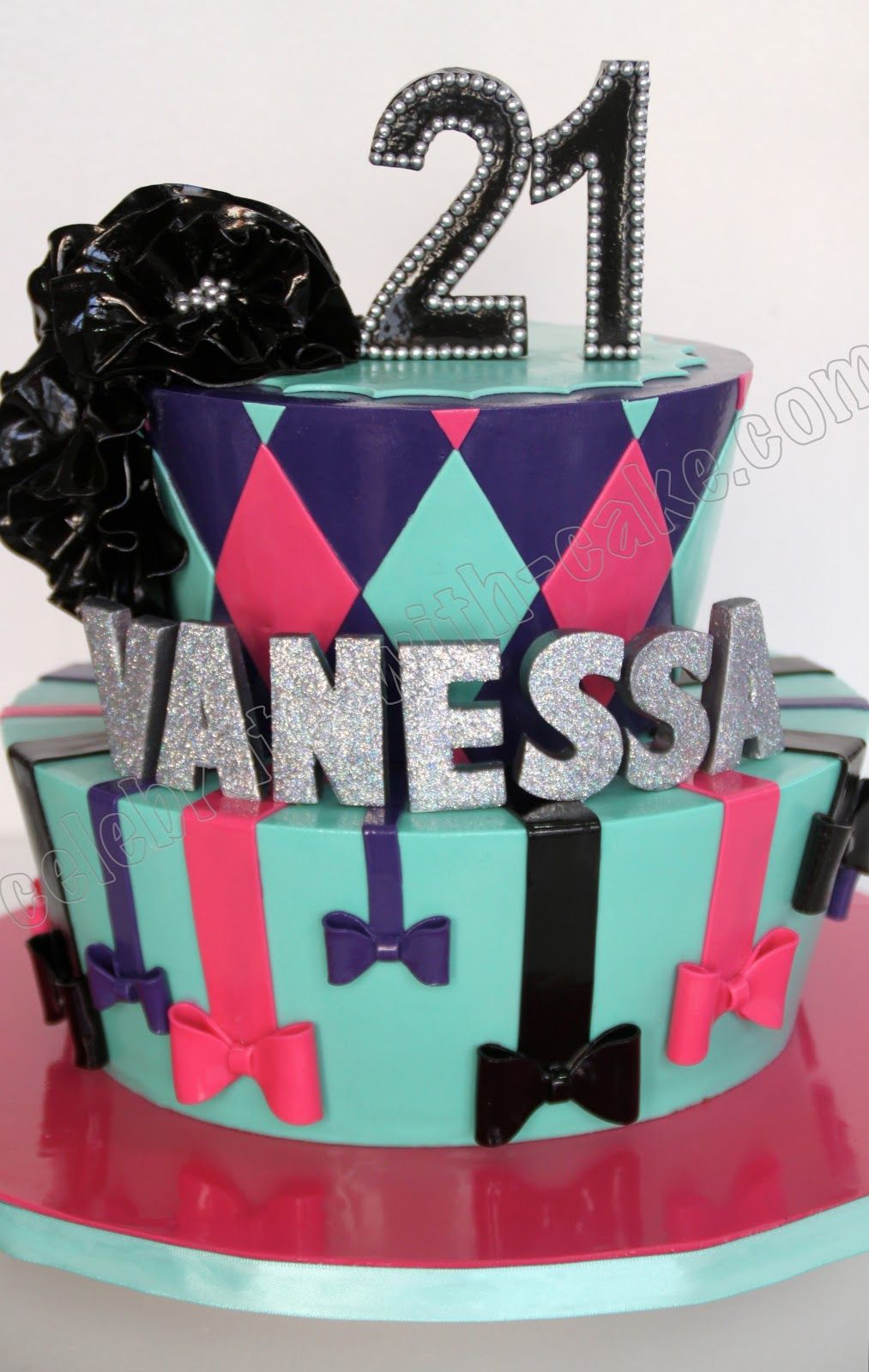 10+ 21st birthday cake for girl with name ideas in 2021