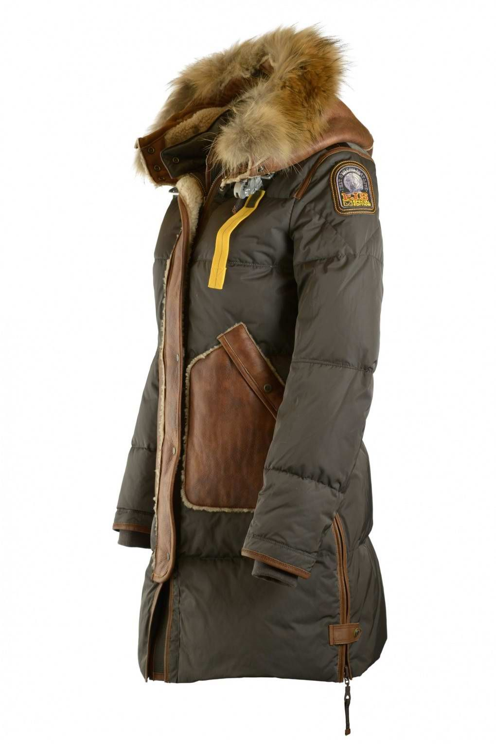 Parajumpers Special Edition Army Long Bear Special Jacket Women