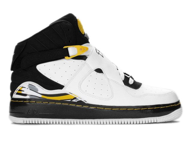 ... De L'air et plus encore ! Nike Air Jordan 8 VIII Air Force One Fusion  AJF8 White/Black-Var http