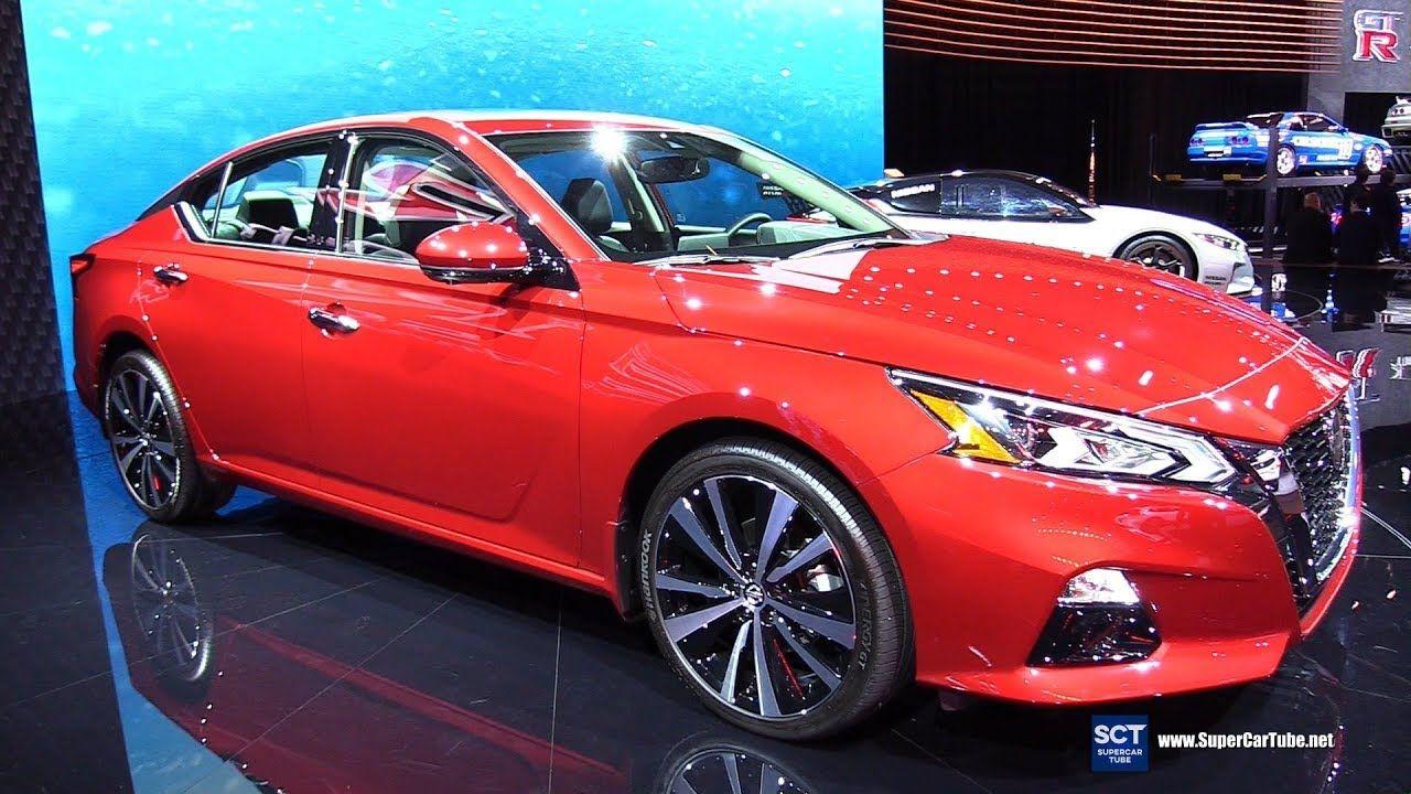 2020 Nissan Altima Platinum Exterior and Interior