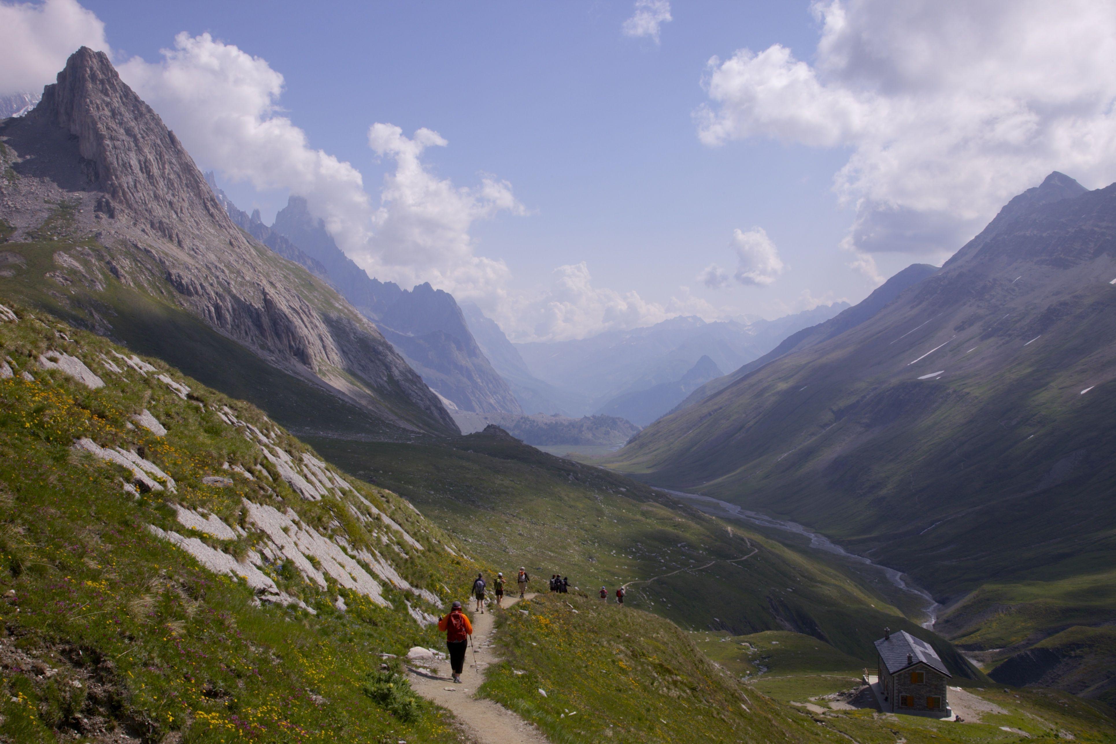 Walking the Val Veni