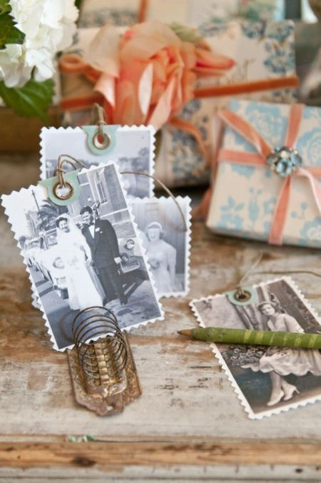 Unique Photo Tags Are The Perfect Addition To 80th Birthday Party Favors See More Favor And Ideas At One Stop