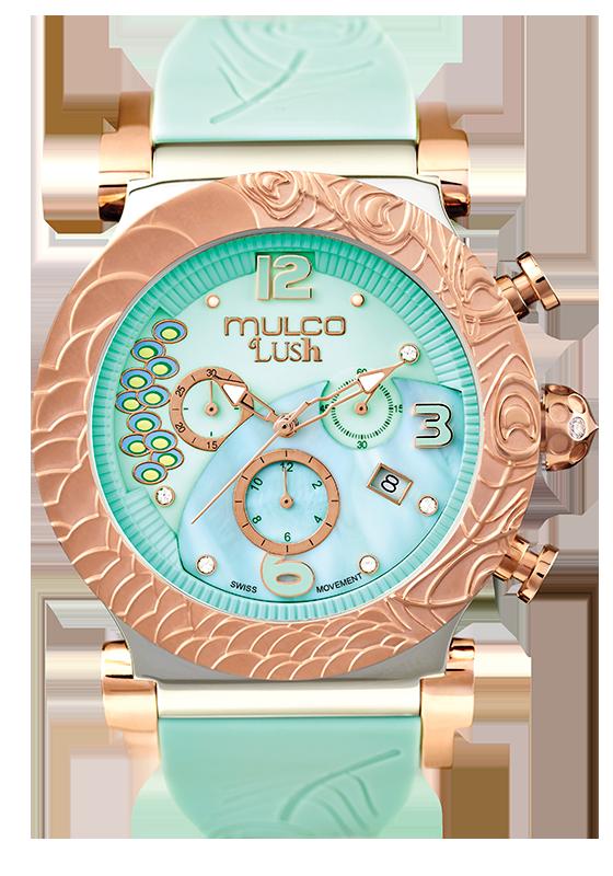 7b352b700b65 Reloj Mulco Colección Lush Peacock Color Agua MW5-2388-483