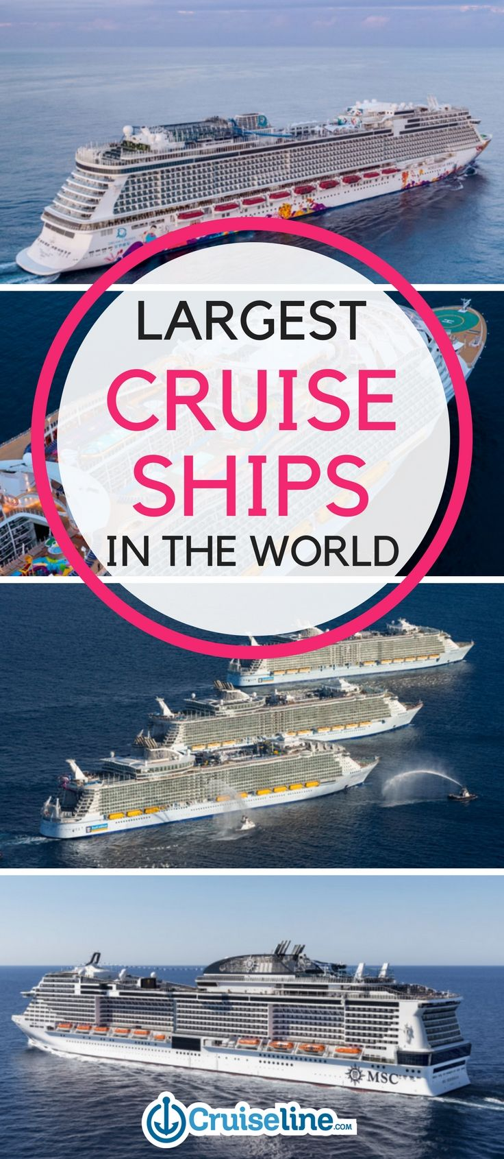 The Largest Cruise Ships In The World Biggest Cruise Ship - Biggest cruise ships list