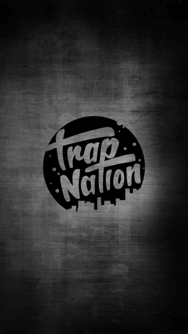 Trap Nation Gray Musica Trap Imagem De Fundo Para Iphone Planos De Fundo