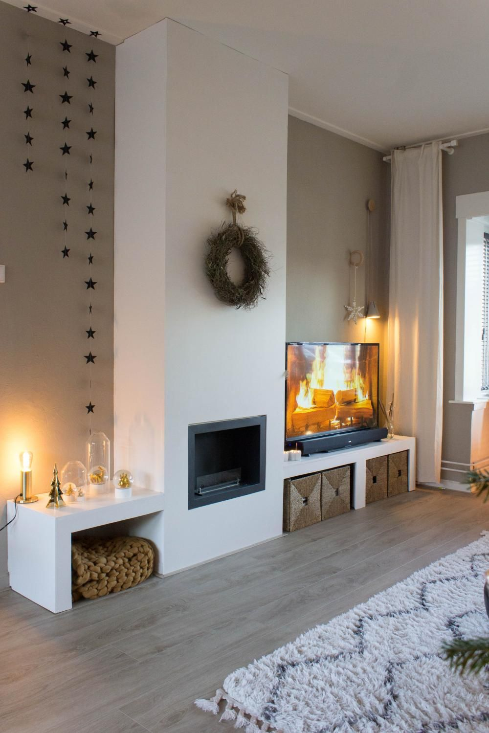 46++ Salones con chimenea y television ideas in 2021
