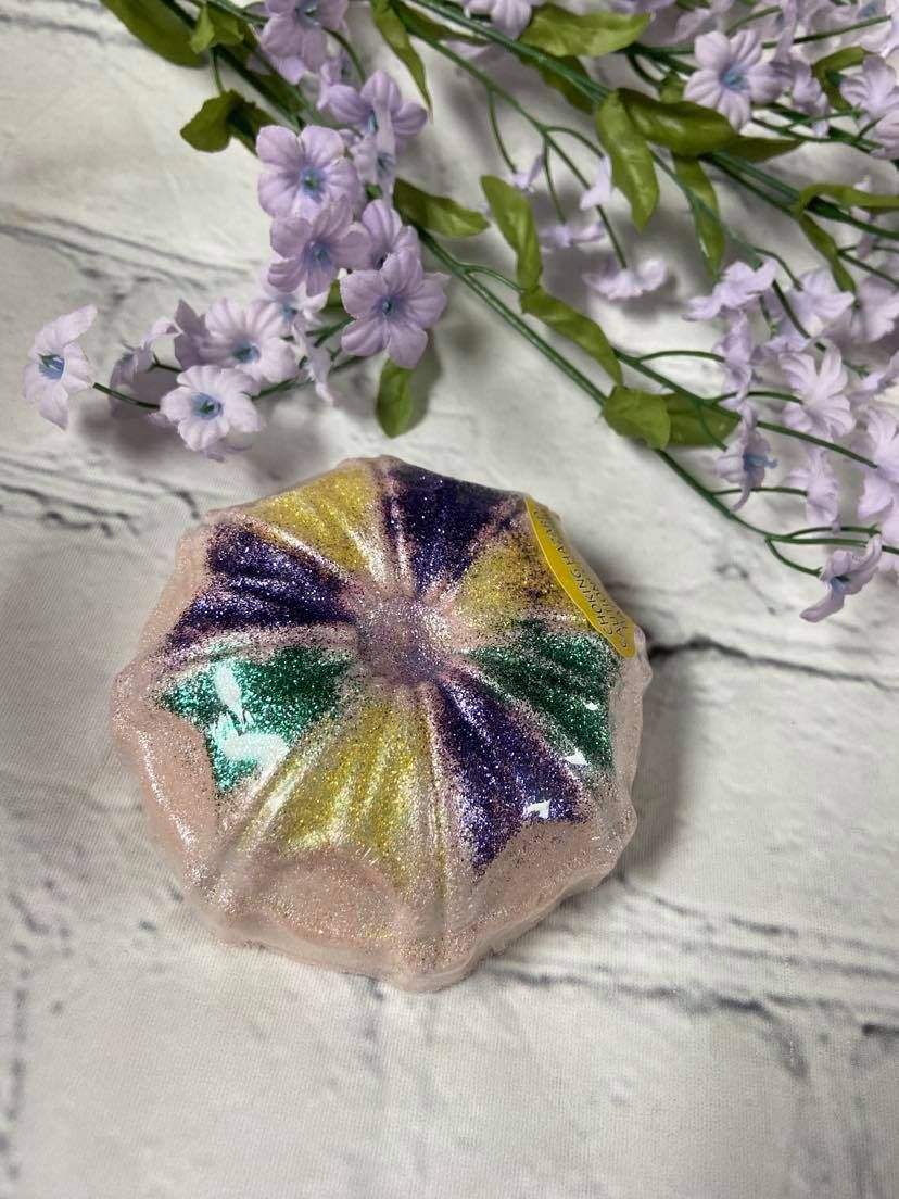 Photo of King Cake Bath Bomb