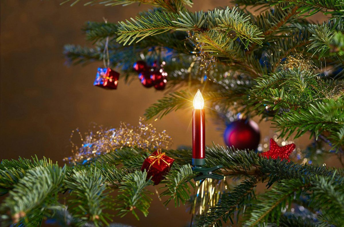 Led Christbaumkerzen Kabellos 25 Kerzen Plus Zubehor Online
