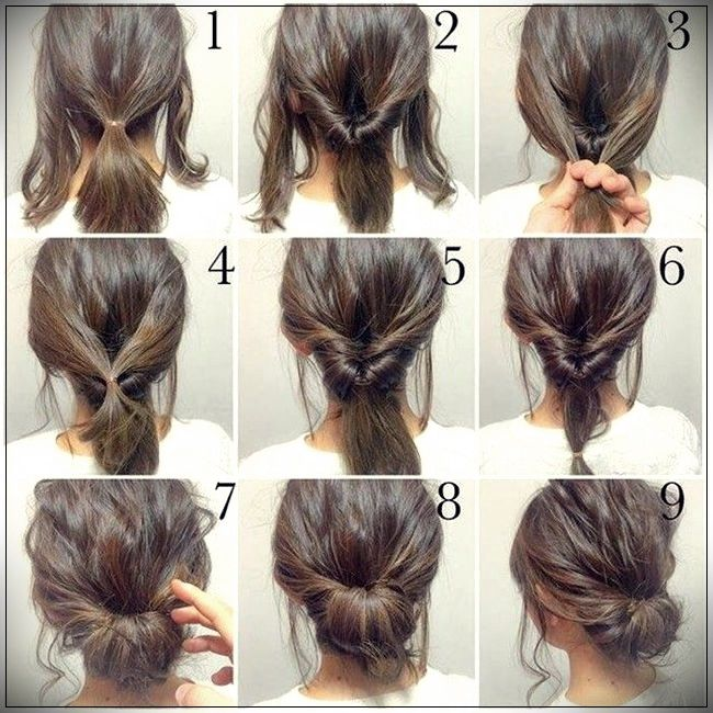 Step By Step Hairstyles: Easy Hairstyles 2019 Step By Step
