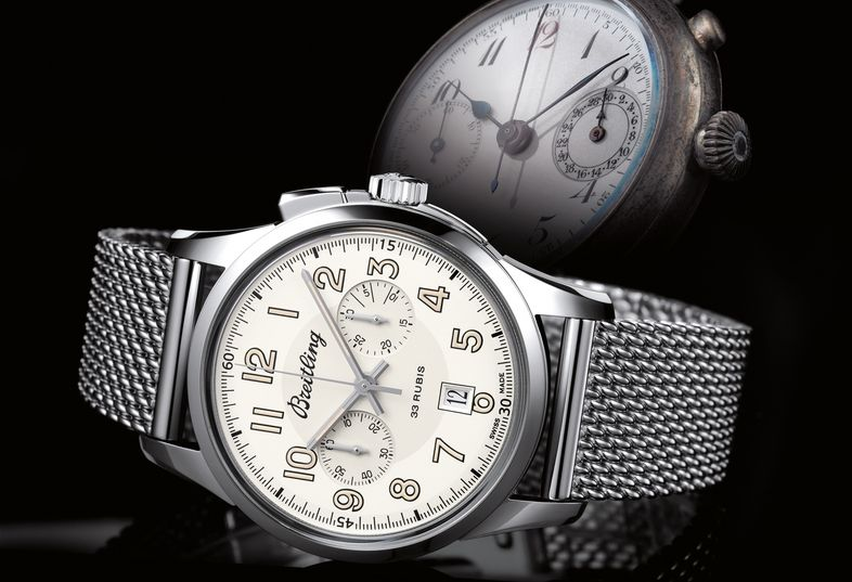 Transocean Chronograph 1915 - Photos - Breitling - Instruments for Professionals