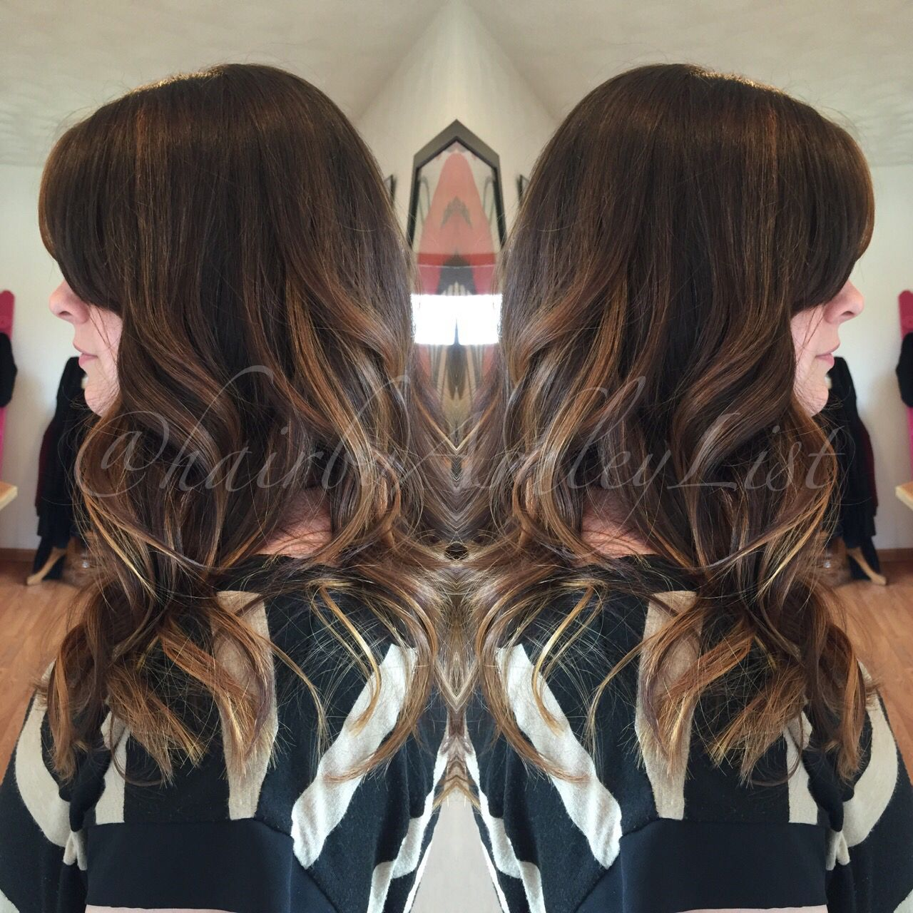 Chocolate With Butterscotch Accents Base Color Redken