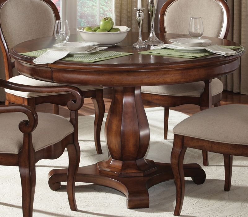 Art Margaux Dining Table With Extension Leaf Dining Table Round