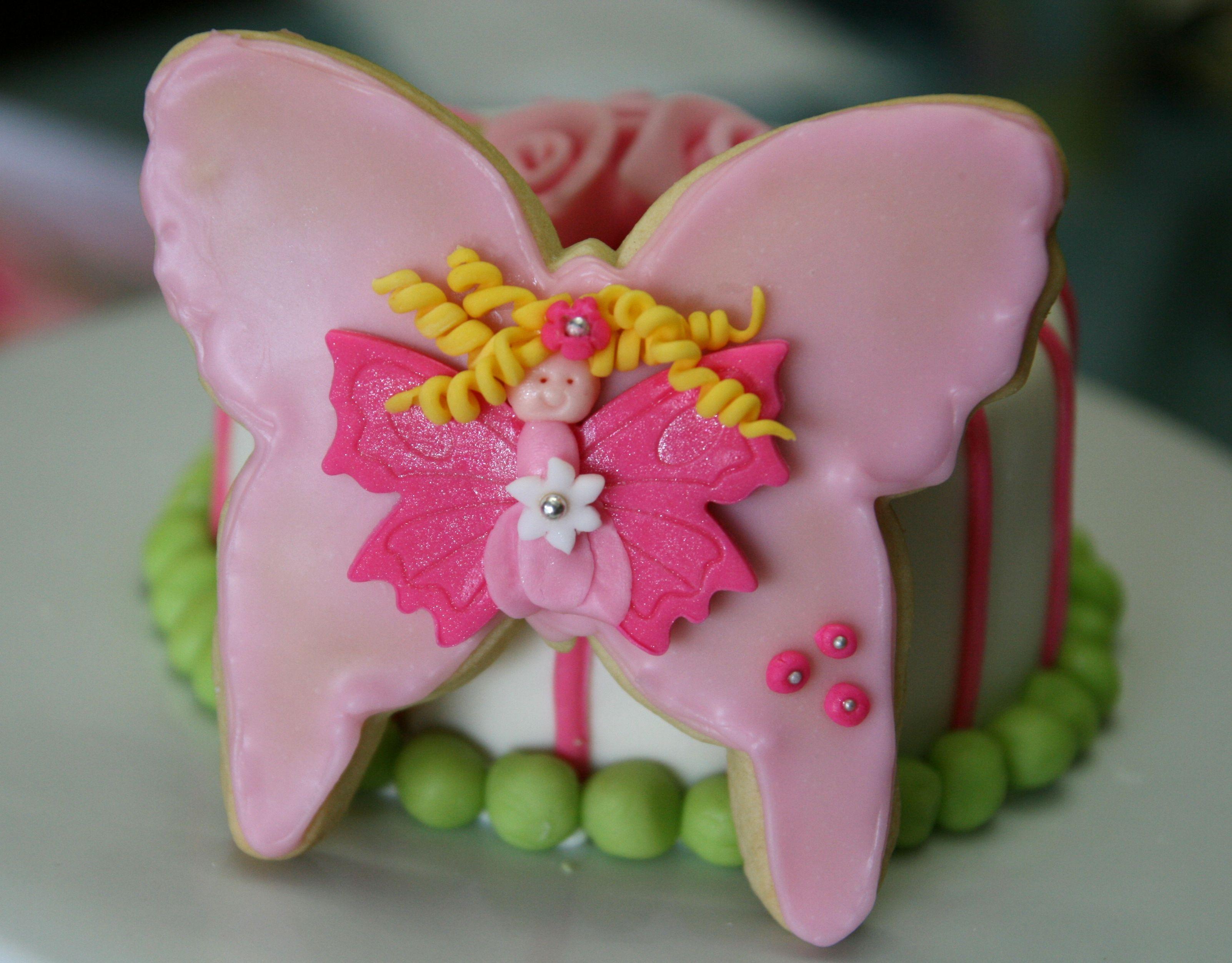 sooo cute fairy cookies  Fairy Party  Pinterest
