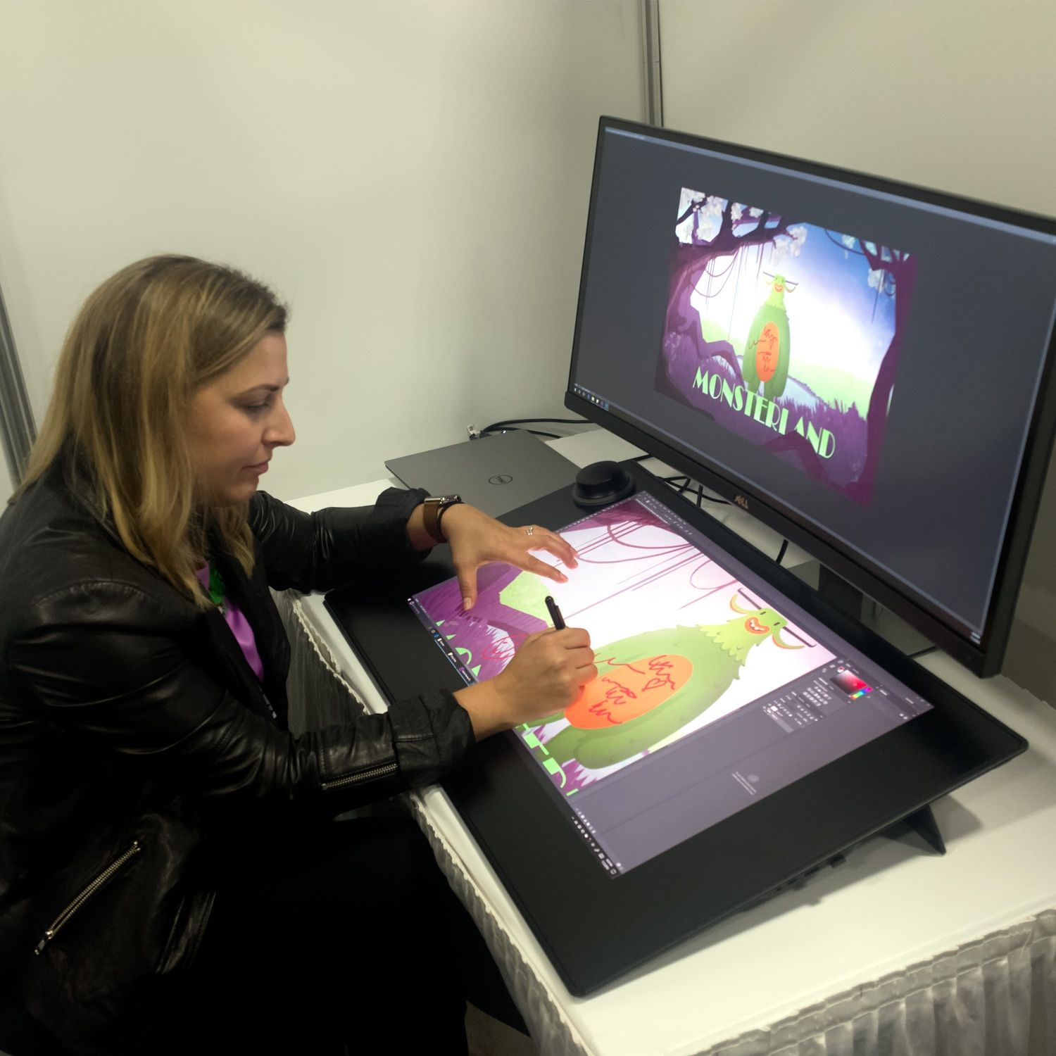 Dell's 27-inch screen you can draw on in like a cheaper