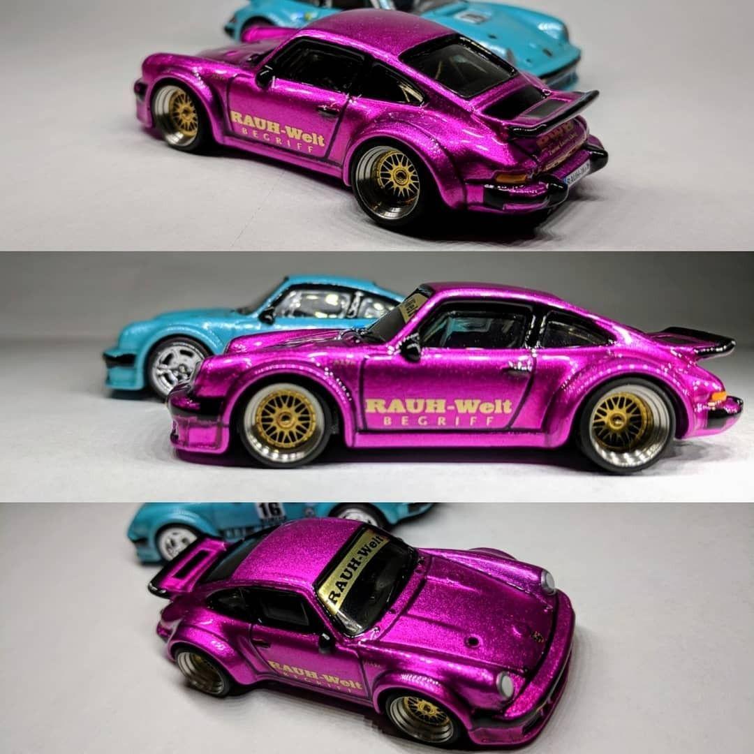 Porsche Hot Wheels Custom Hot Wheels Diecast Cars