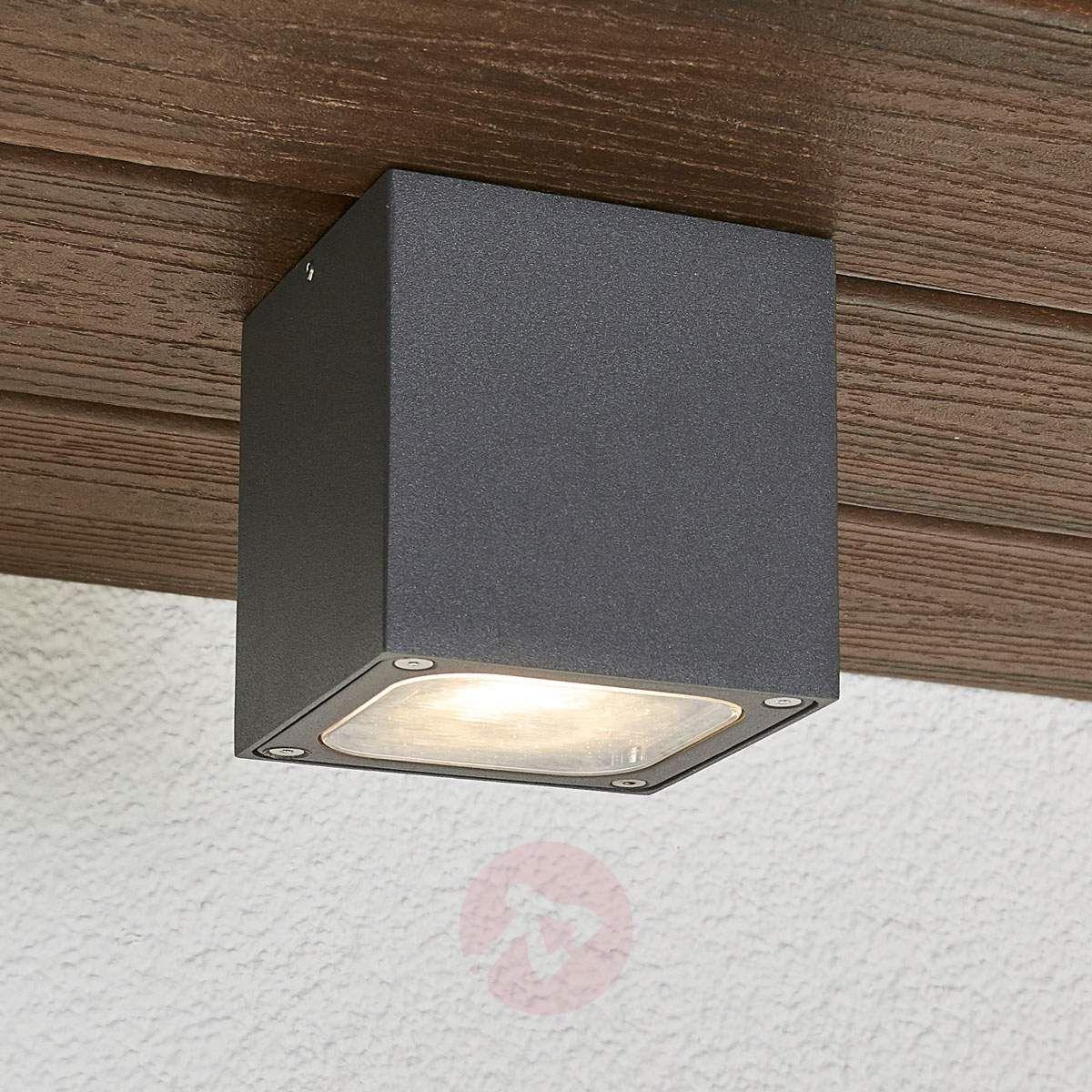 Lampa Sufitowa Zewnętrzna Led Tanea Ip54 Lampy Sufitowe