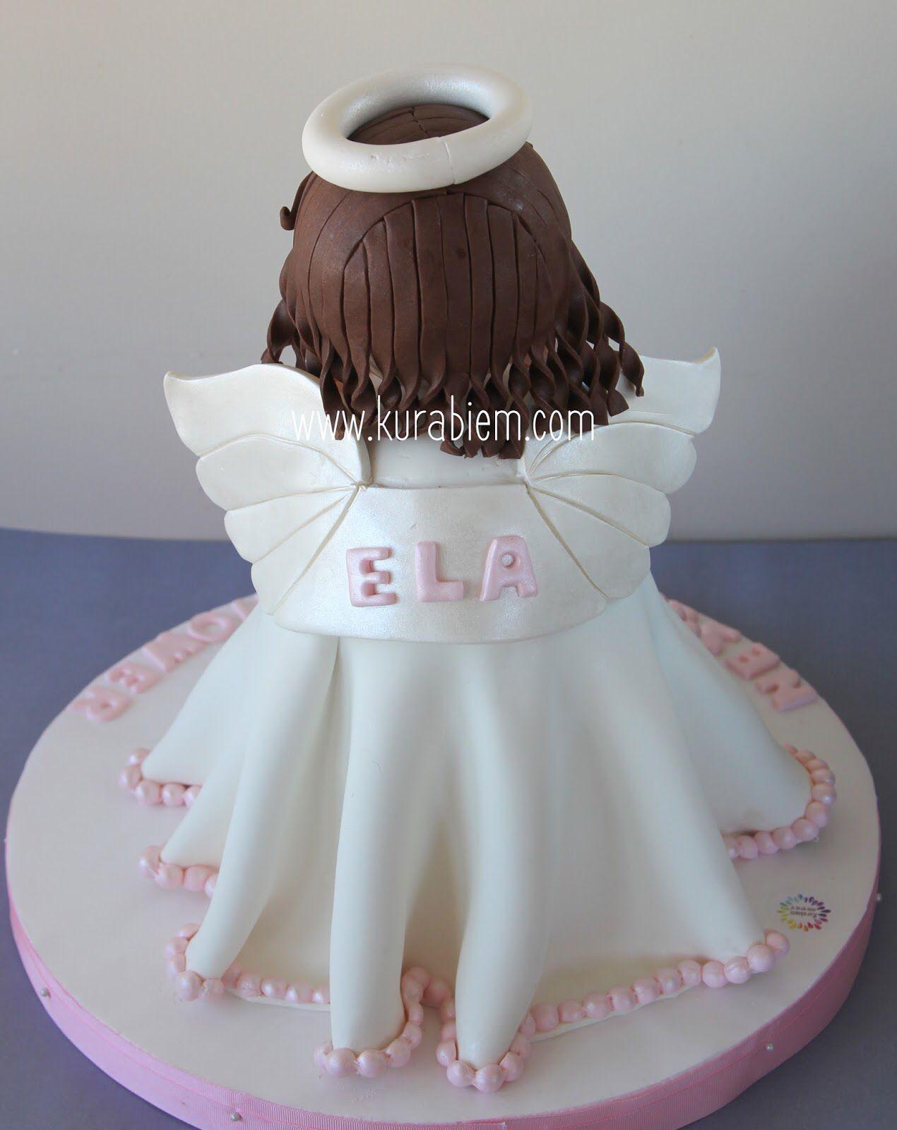Angel cake 3d angel cake melek pasta babyshower pastası