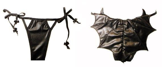 e991838d4c99 Vampire Bat Bikini Batwing Goth Panties by DiktatorFashionLab ...