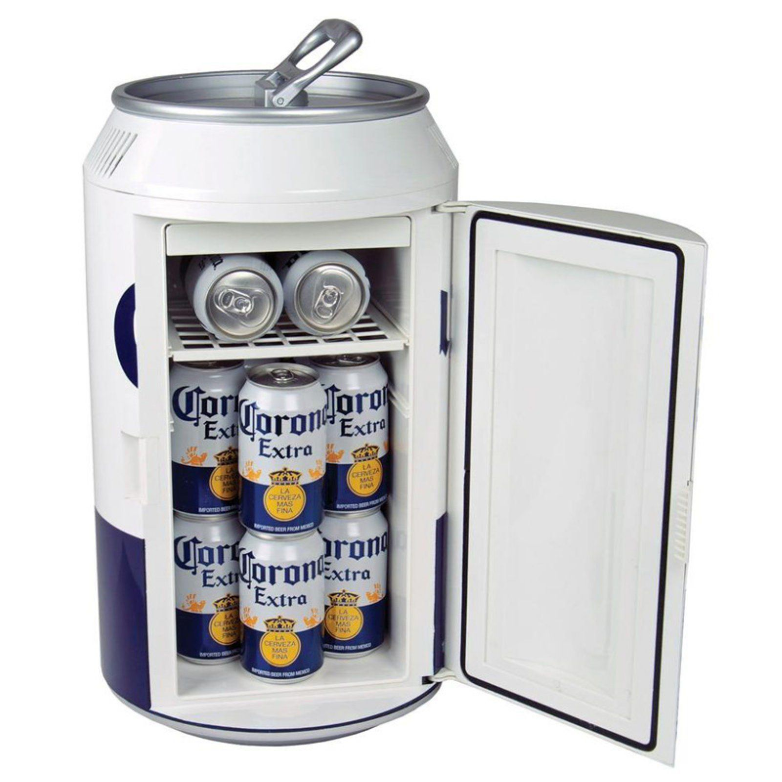 Corona Extra Cor12 12 Can Ac Dc Portable Mini Cooler Mini Fridge Walmart Com In 2020 Beer Fridge Mini Cooler Canning