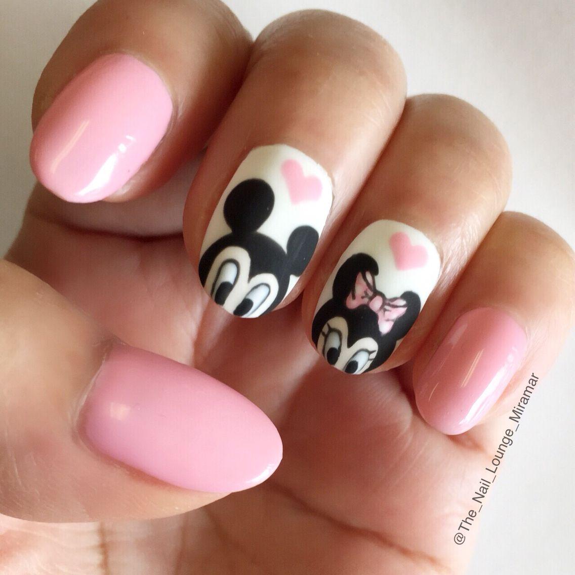 Disney Mickey Minnie Mouse nail art design | Nail Art | Pinterest ...