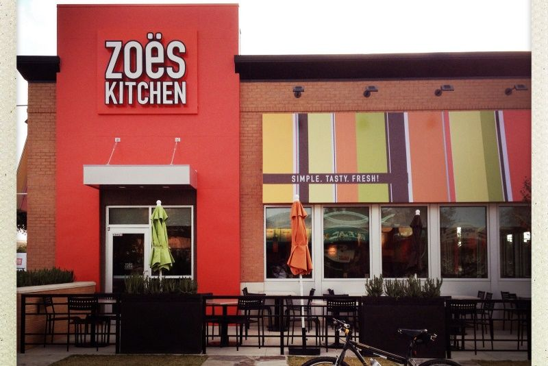 Cava Group To Buy Fast Casual Restaurant Zoe S Kitchen For 300m In 2020 Zoes Kitchen Fast Casual Restaurant Casual Restaurants