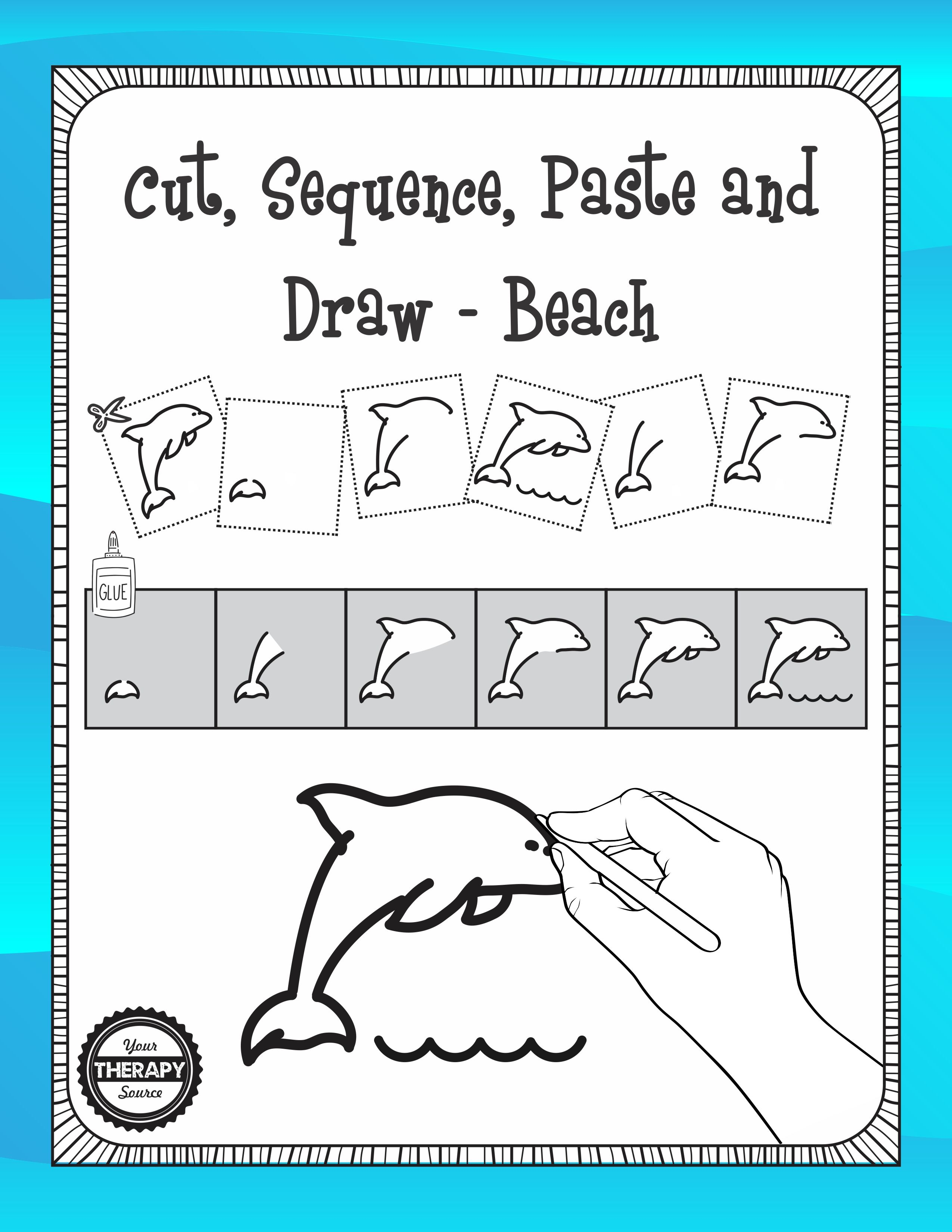 Cut Sequence Paste And Draw