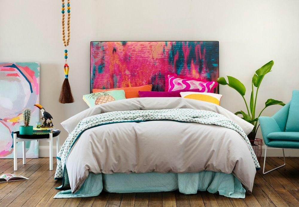 Mexsii hoofdbord maakt van je slaapkamer een waar kunstwerk for