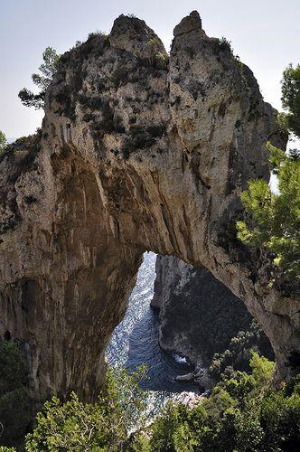 Natural arch capri dr tr flickr Best hikes in capri