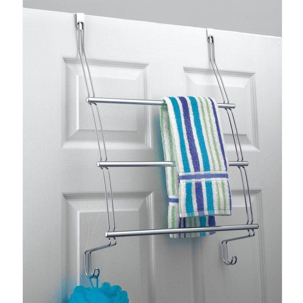 Amazon Interdesign タオル掛け ドアハンガー ラック シャワー バスルーム用 Classico クローム 69110ej タオルかけ オンライン通販 Towel Rack Shower Doors Over Door Towel Rail