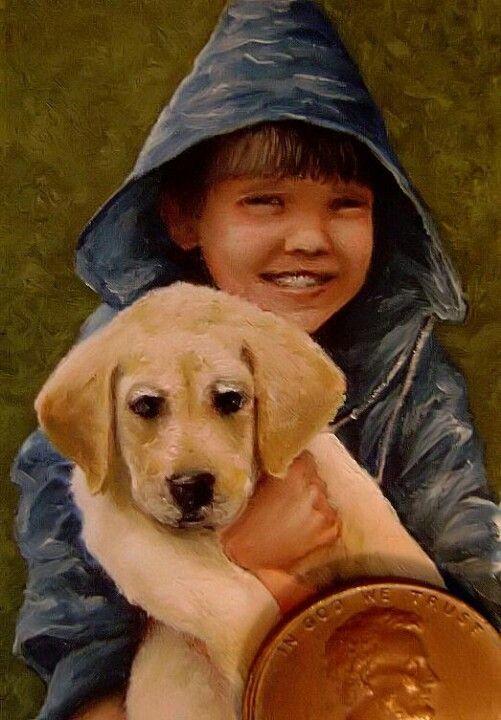 A Boy & His Dog ~ By SplitLipGypsy