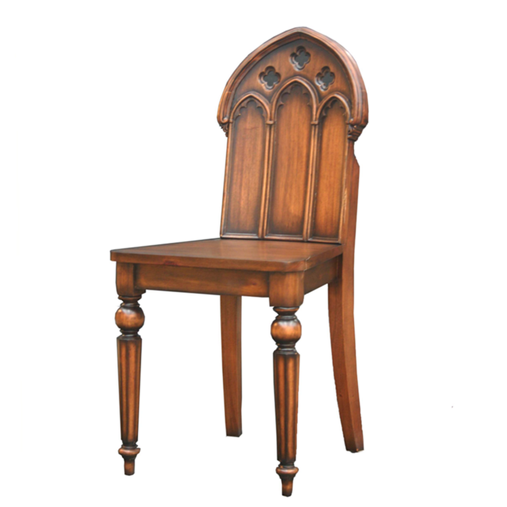 Lovely Adams Gothic Mahogany Solid Wood Chair, Statement Chairs From  Www.serendipityhomeinteriors.com