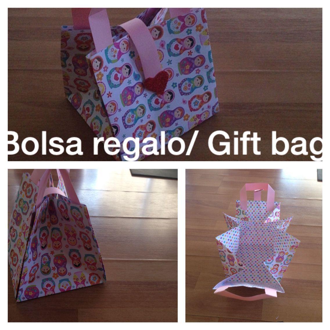 Bolsa para regalo. Gift bag.