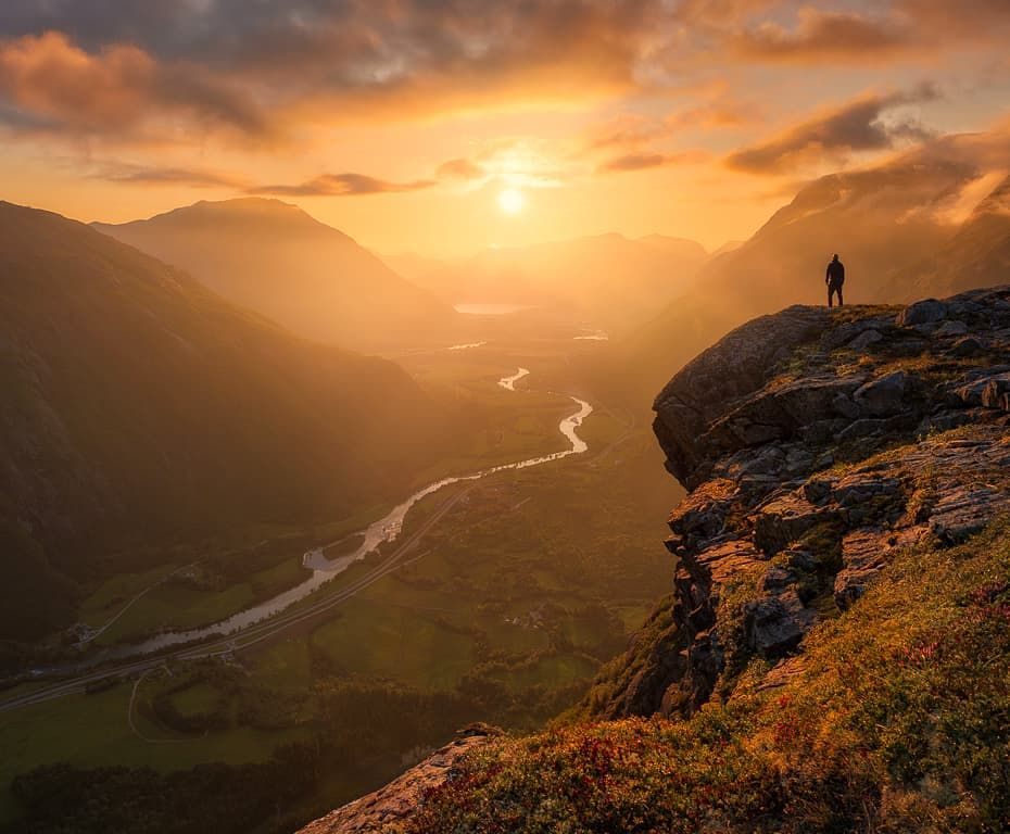 Ole Henrik Skjelstad On Instagram Selfie From Romsdalen Norway What An Amazing Evening It Was In Terms Of Light And Colors Pentax 645z Pentax 28 45 Sirui