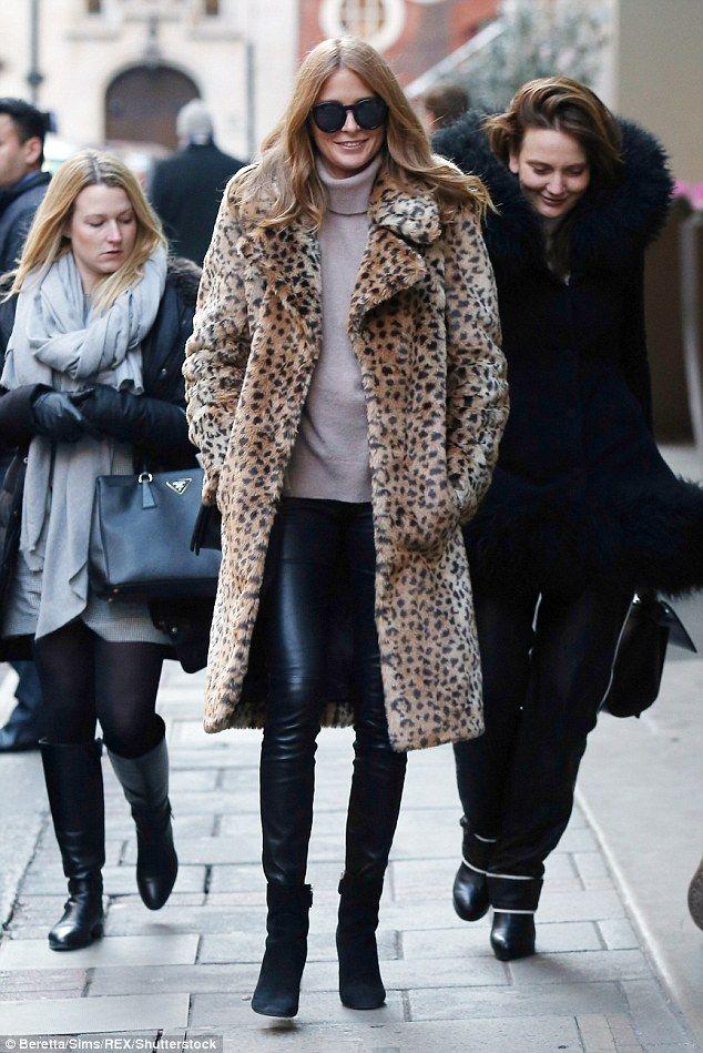 dcc2e9d15fa Millie Mackintosh looks sartorially savvy in leopard print coat ...
