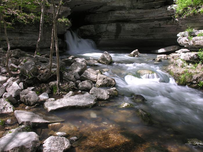 Blanchard springs caverns national forest near mountain for Ozark national forest cabins