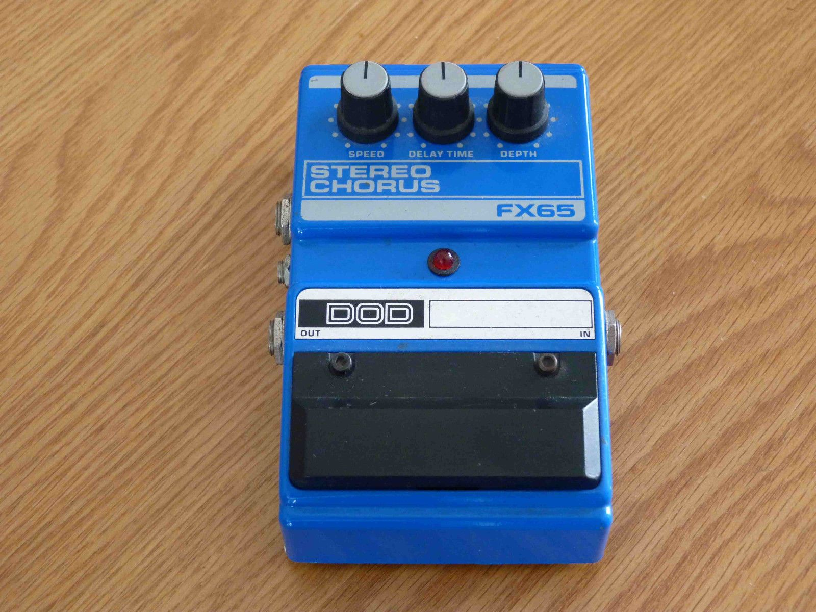 Dod Fx65 Stereo Chorus Vintage Guitar Effects Pedal In Good Condition Vintage Guitars Guitar Effects Guitar Effects Pedals