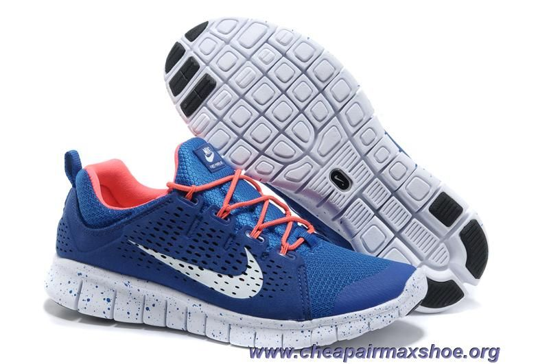 half off 86313 fb5dc 555306-660 Blue Red White Nike Free Powerlines II Mens Sale