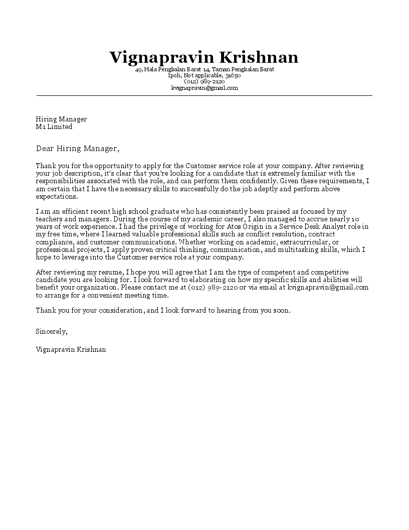cover letter builder build a cover letter in minutes with resumegenius - Resume Genius Thank You Letter