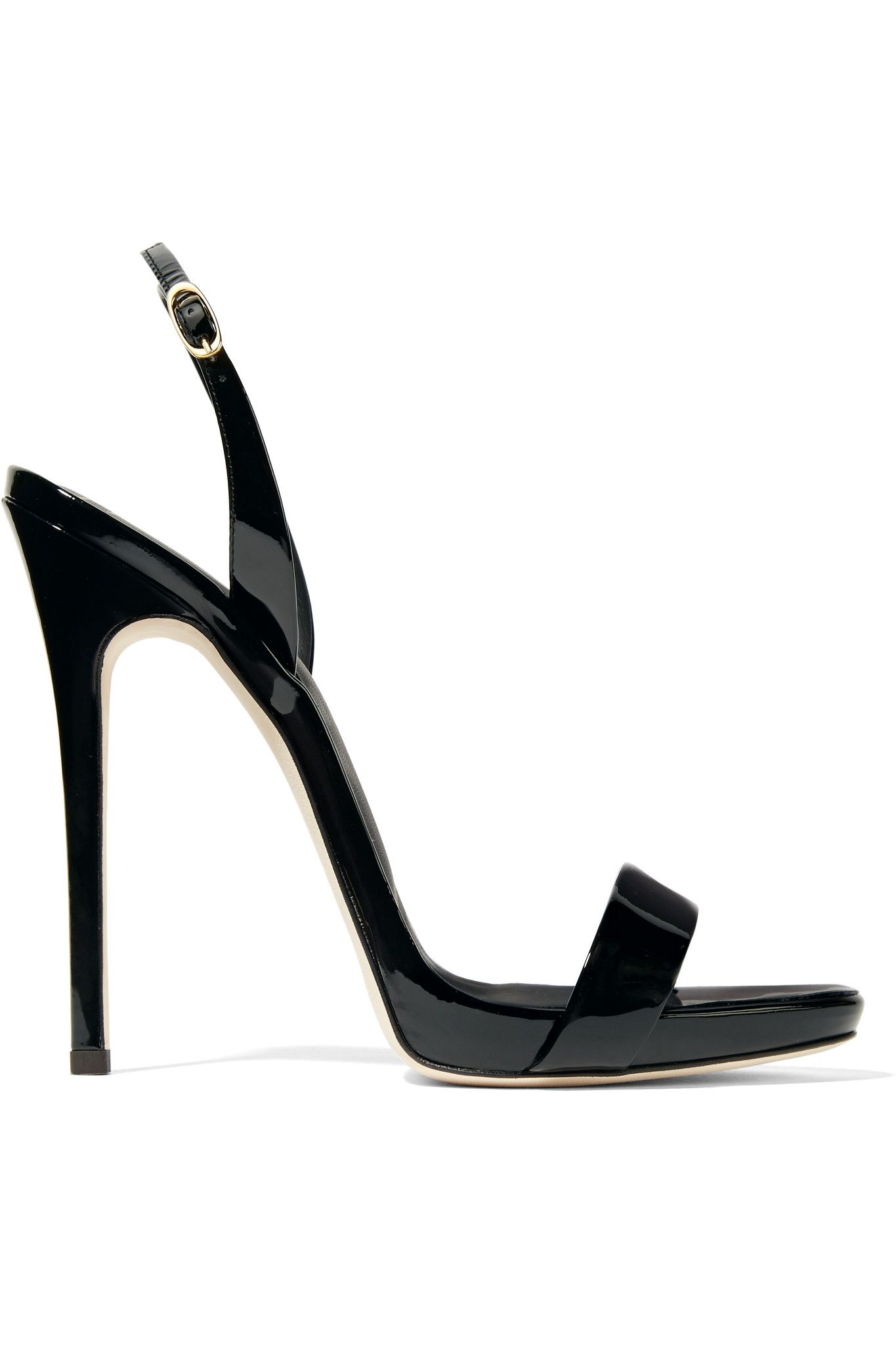 Giuseppe Zanotti Blush patent leather sandal SOPHIE 8VQzg6ddrQ