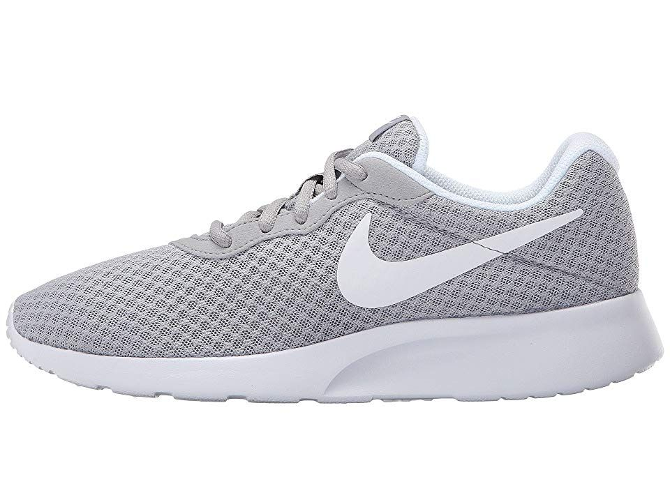 24372c0ba348 Nike Tanjun Women s Running Shoes Wolf Grey White