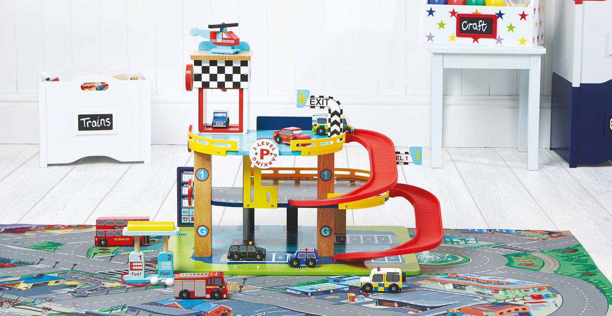 This brilliant garage offers three storeys of joy