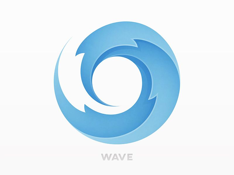 wave logo logos anniversary logo and visual communication rh pinterest ie wave logo psd wave logo brand