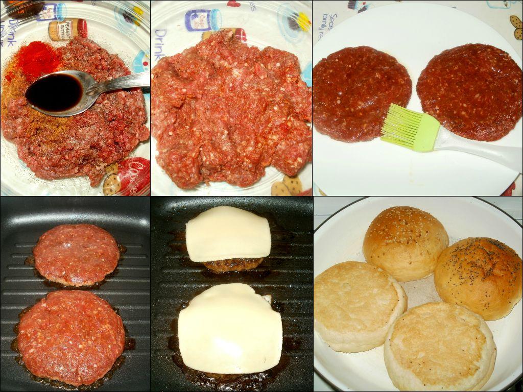 Hamburguesas de ternera c mo hacer hamburguesas for Ideas de comidas caseras