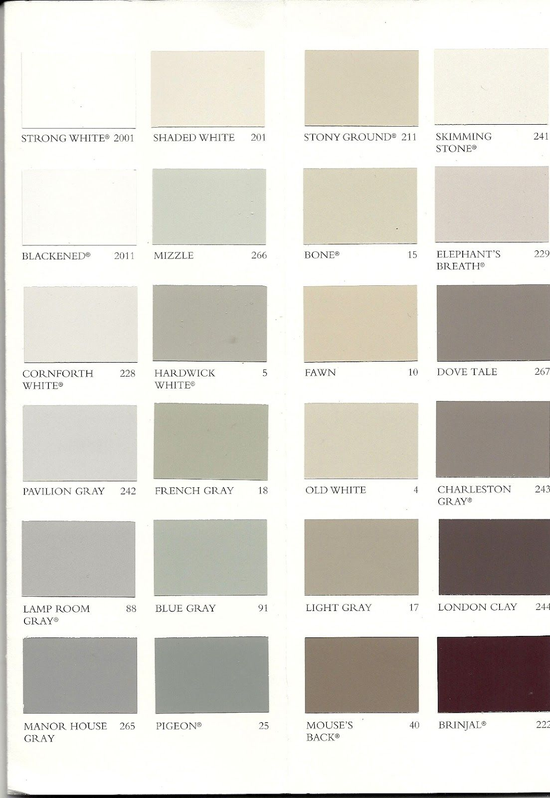 Farrow And Ball Kleurenwaaier.Farrow And Ball Kleurenkaart Google Zoeken Colors Pinterest