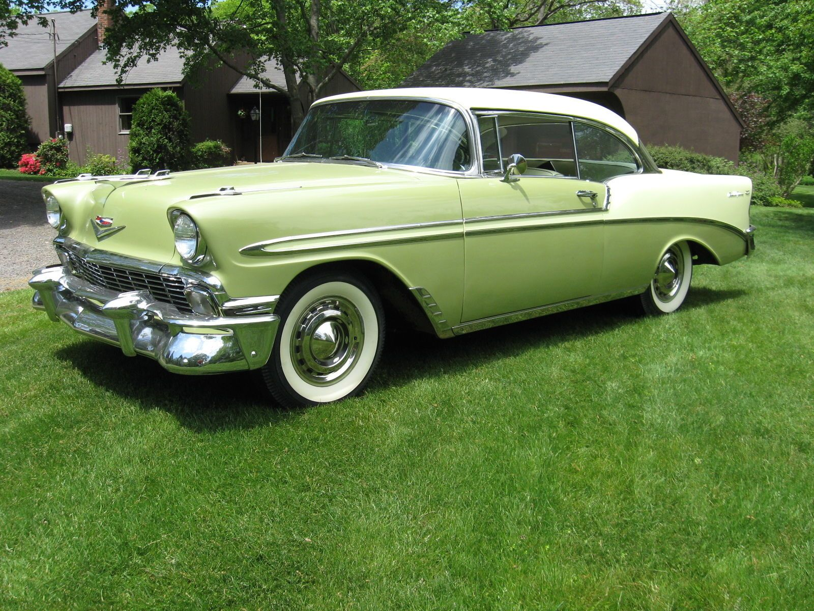 1956 Chevrolet Belair 2dr Hardtop Chevrolet American Classic Cars