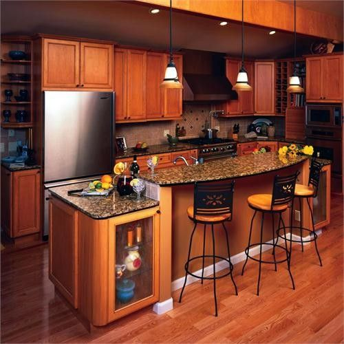 Wide Choice Available For Kitchen Paint Colors With Maple ...