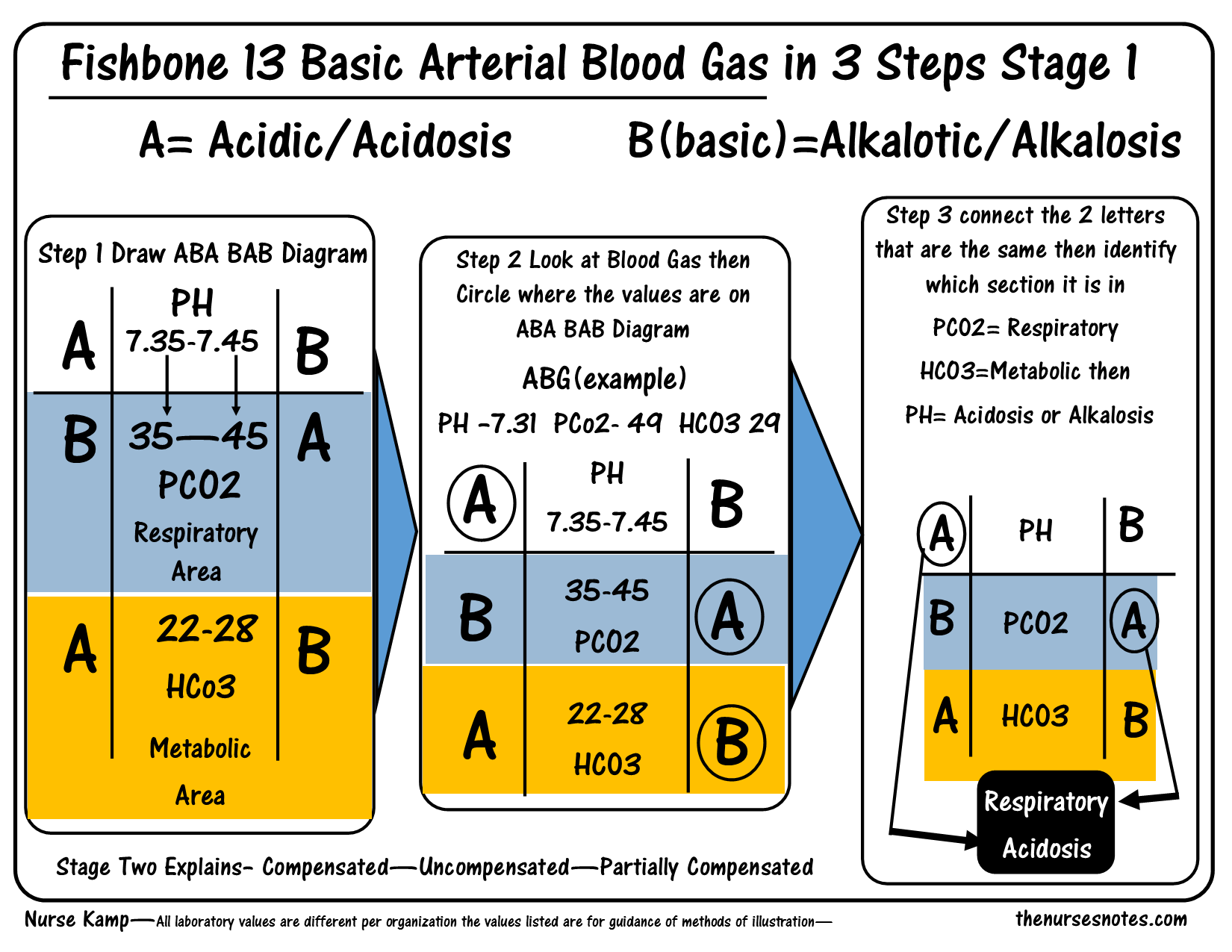 ABG Fishbone Diagram This is the 13th in the series of fishbones ...