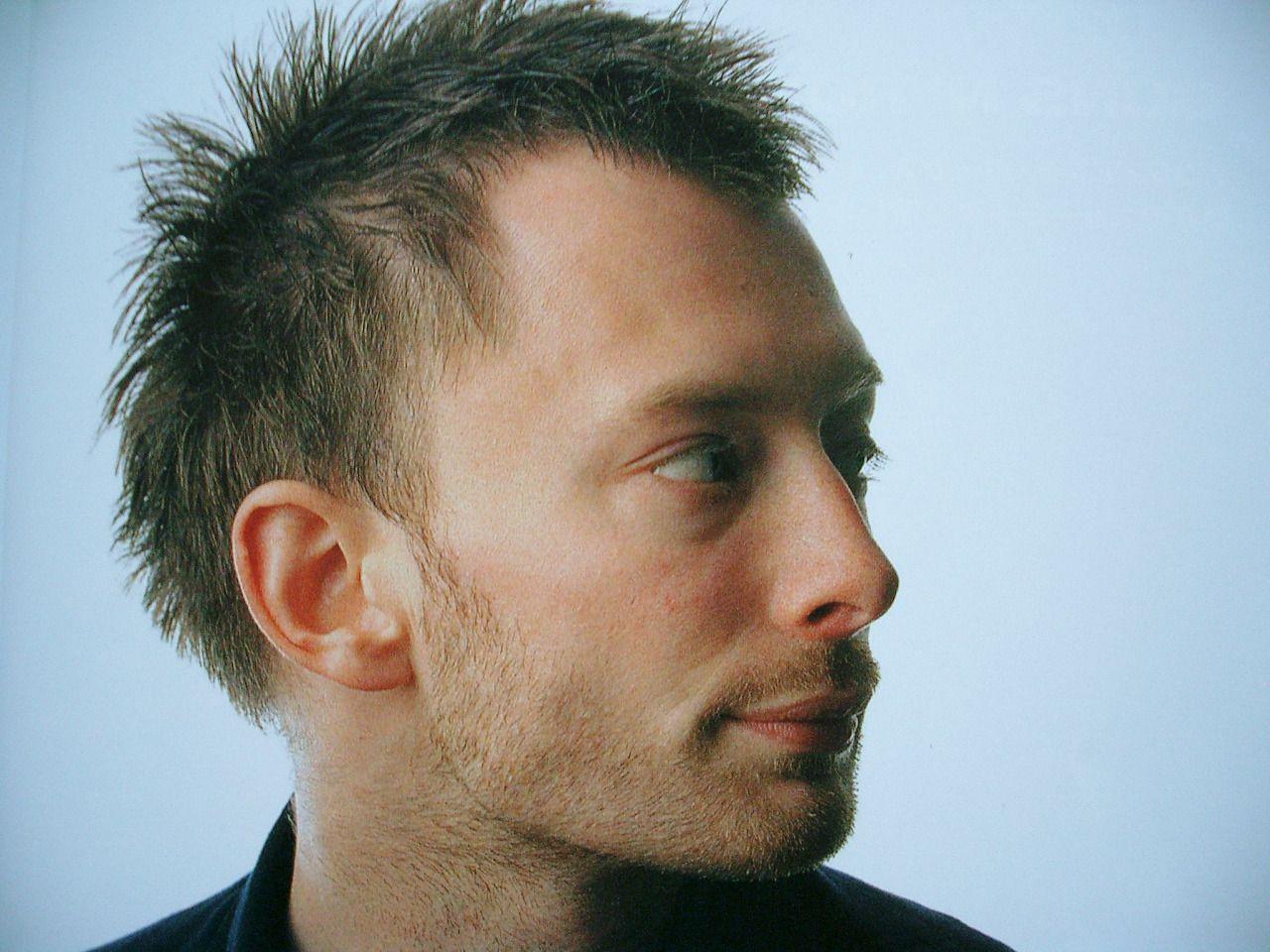 Thom Yorke Eye Ptosis