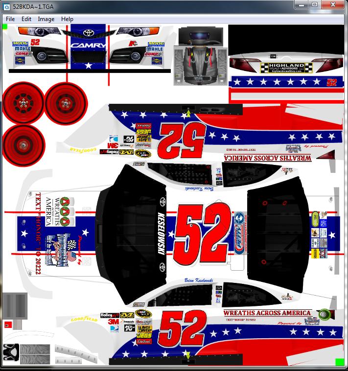 NASCAR Templates 2013   Thread: Official Nascar Racing 2003